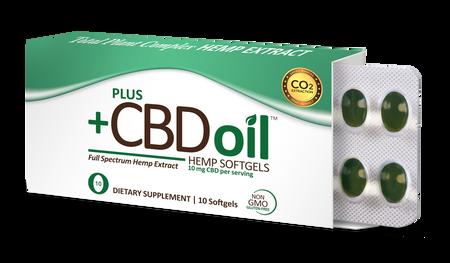 CBD Total Plant Complex - 10 Softgels
