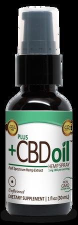 CBD Total Plant Complex Unflavored - 1 oz