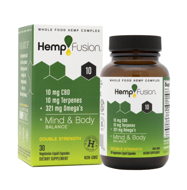 10 mg CBD Hemp Extract - 30 Capsules