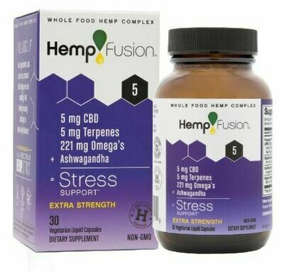 Stress CBD Hemp Extract - 30 Capsules