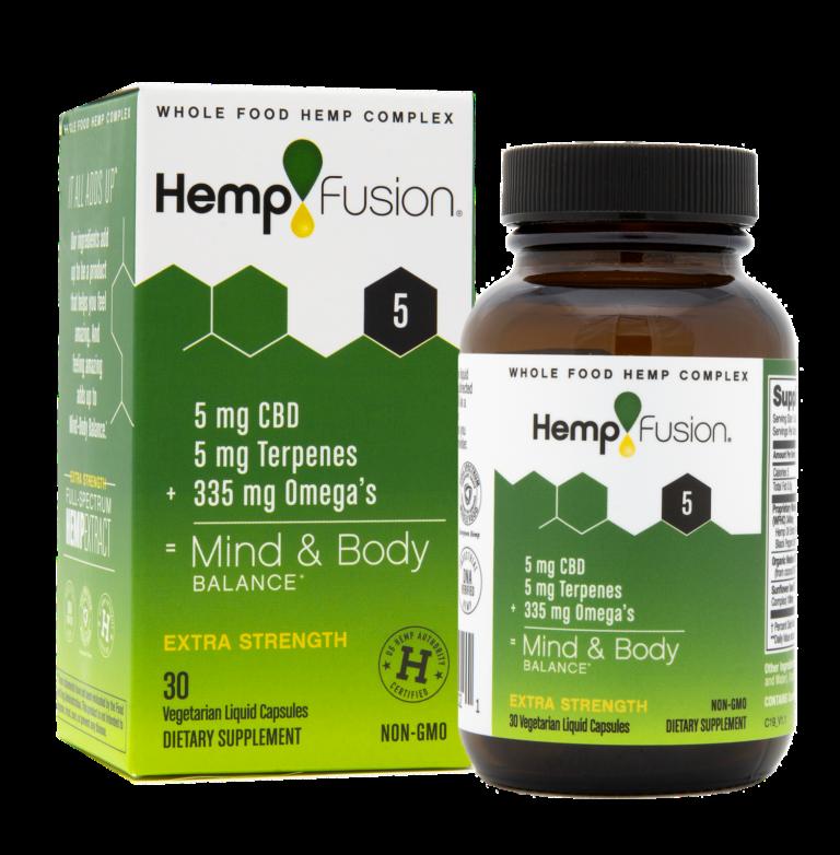 5 mg CBD Hemp Extract - 30 Capsules