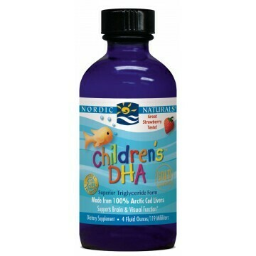 Children's DHA Liquid Strawberry - 4 fl oz