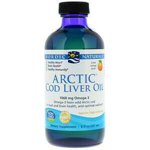 Arctic Cod Liver Oil Orange - 8 fl oz