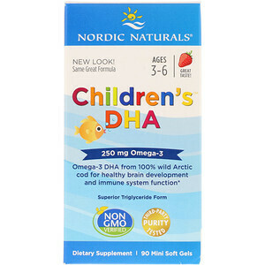 Children's DHA - 90 mini soft gels