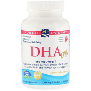 DHA Xtra for Brain and Nervous System - 60 Softgels