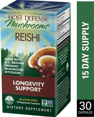 Reishi Longevity Support - 30 Capsules
