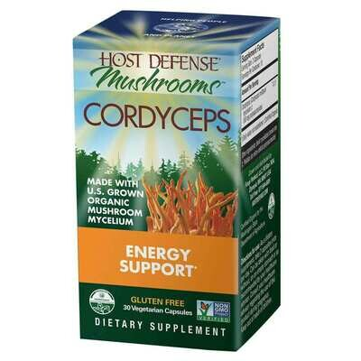 Cordyseps Energy Support - 30 Capsules
