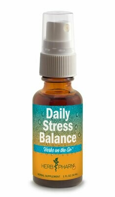 Herbs on the Go Daily Stress Balance - 1 fl oz