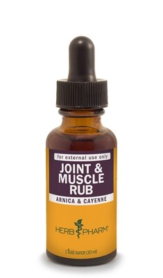 Joint & Muscle Rub - 1 oz.