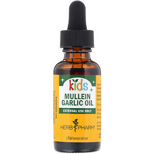 Kids Mullein/Garlic Ear Oil - 1 oz