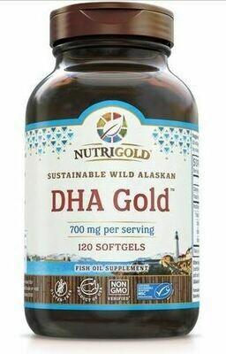 DHA Gold 700 mg - 120 Softgels