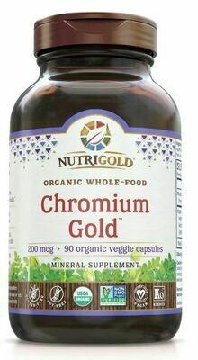 Chromium Gold 200 mcg - 90 Capsules