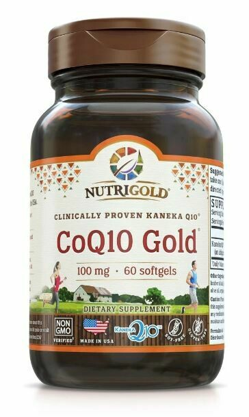 CoQ10 Gold - 60 Softgels