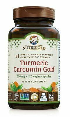 Turmeric Curcumin Gold - 120 Capsules
