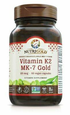 Vitamin K2 Gold - 60 Capsules