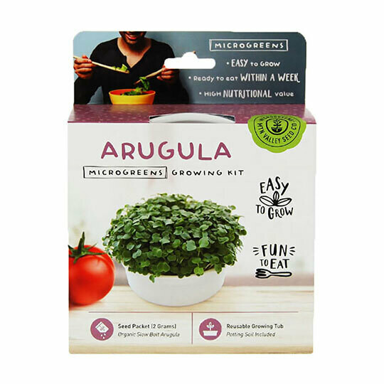 Microgreens Growing Kit Arugula