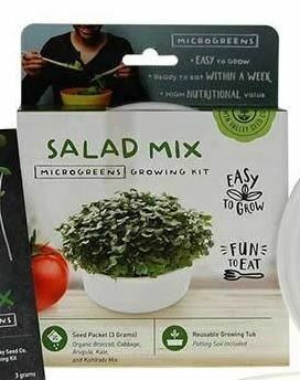 Microgreens Growing Kit Salad Mix