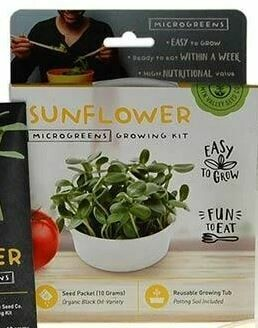 Microgreens Growing Kit Sunflower