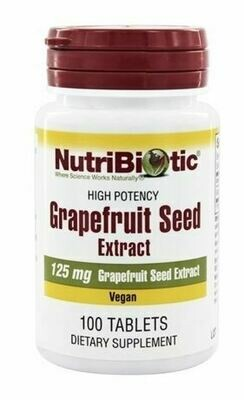High Potency Grapefruit Seed Extract - 100 Tablets