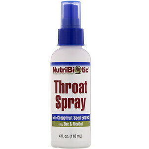 Throat Spray with Grapefruit Seed Extract plus Zinc - 4 oz