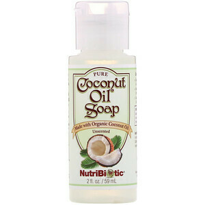Coconut Oil Soap Unscented - 2 oz