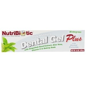 Dental Gel Plus Grapefruit Seed Extract Wintergreen - 4.5 oz