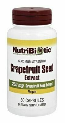 Maximum Strength Grapefruit Seed Extract - 60 Capsules