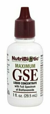 Maximum GSE Liquid Concentrate - 1 oz