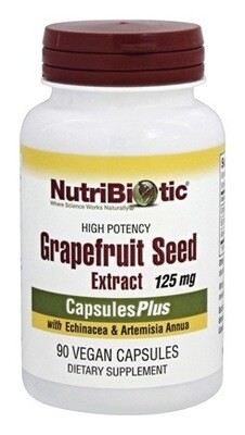 High Potency Grapefruit Seed Extract Plus - 90 caps.
