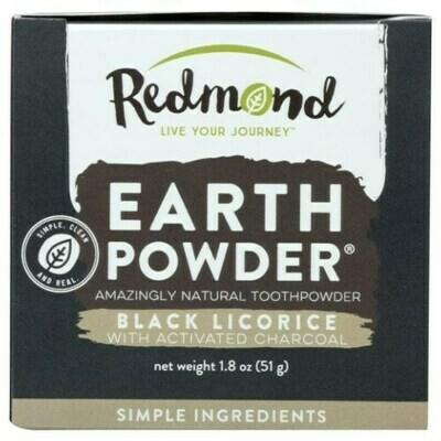Earthpowder Black Licorice - 1.8 oz