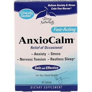 AnxioCalm - 45 Tablets