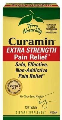 Curamin Extra Strength Pain Relief - 120 Tablets