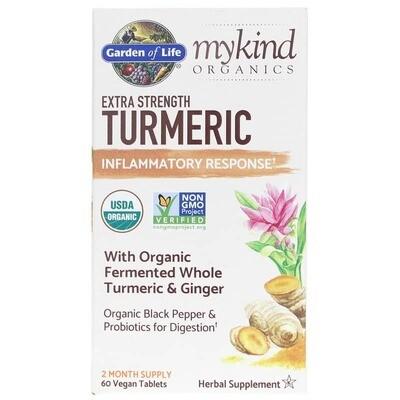 mykind Organics Turmeric Pain Relief - 30 Tablets