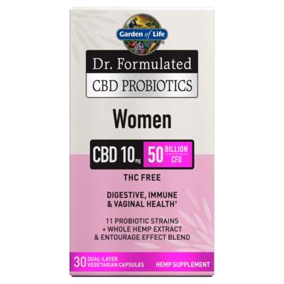 Dr Formulated CBD Probiotics for Women - 30 Capsules