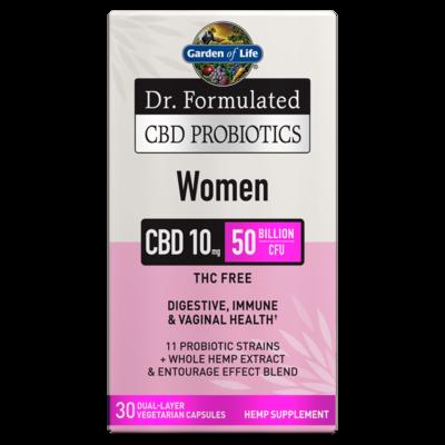 Dr Formulated CBD Probiotics for Women - 30 Capsules