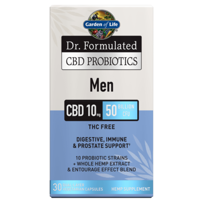 Dr Formulated CBD Probiotics for Men - 30 Capsules