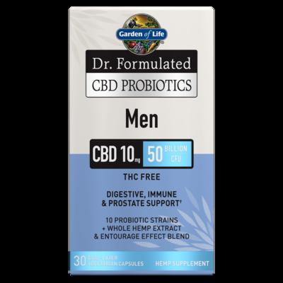 Dr Formulated CBD Probiotics for Men - 30 Capsules