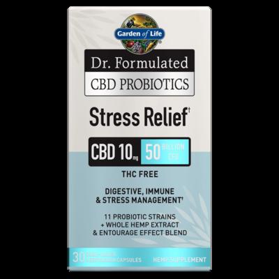 Dr Formulated CBD Probiotics Stress Relief - 30 Capsules