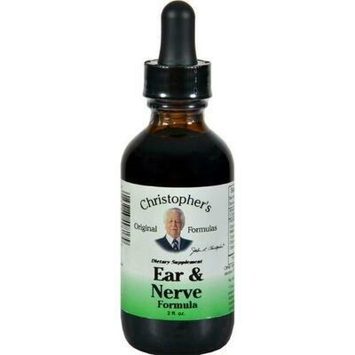 Ear & Nerve Formula Extract - 2 oz.