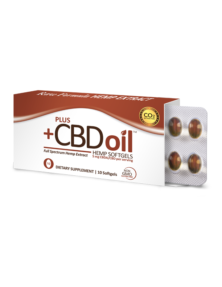 CBD Raw Formula - 10 Softgels