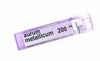 Aurum Metallicum 200 ck - 80 Pellets