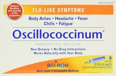 OSCILLOCOCCINUM® 6 ct.