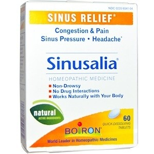 SinusCalm Sinus Relief - 60 Tablets