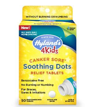 4 Kids Canker Sore - 50 Tablets