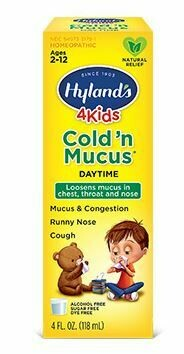 4 Kids Cold 'N Mucus - 4 oz