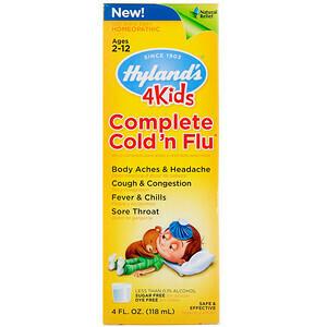 4 Kids, Complete Cold 'n Flu - 4 fl oz