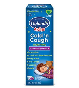 4 Kids Cold N Cough Grape Nighttime- 4 oz