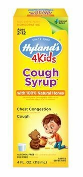 4 Kids Cough Syrup with Natural Honey - 4 fl oz