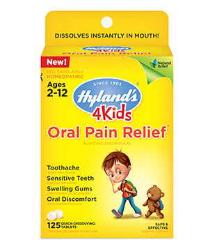 4 Kids Oral Pain Relief - 125 Tablets