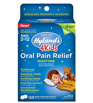 4 Kids Oral Pain Relief Nighttime - 125 Tablets